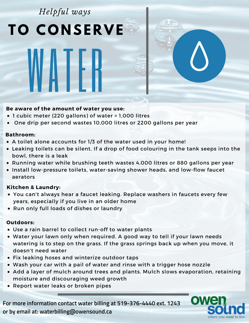 Water and Wastewater - Owen Sound