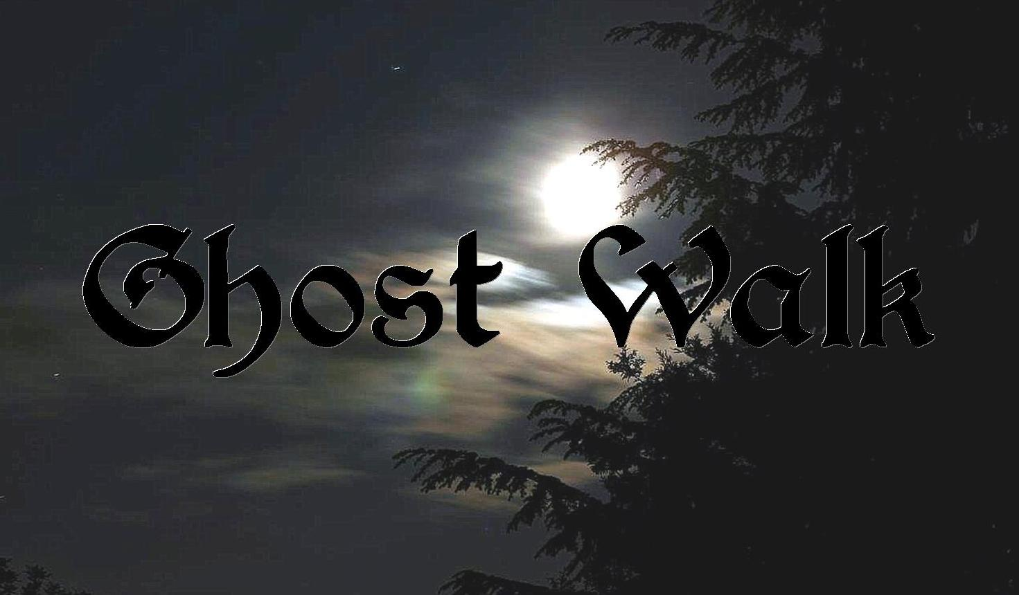 Join us for Ghost Walks in July and August