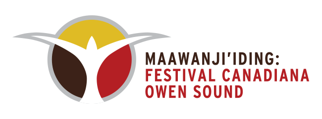 logo, festival canadiana, owen sound