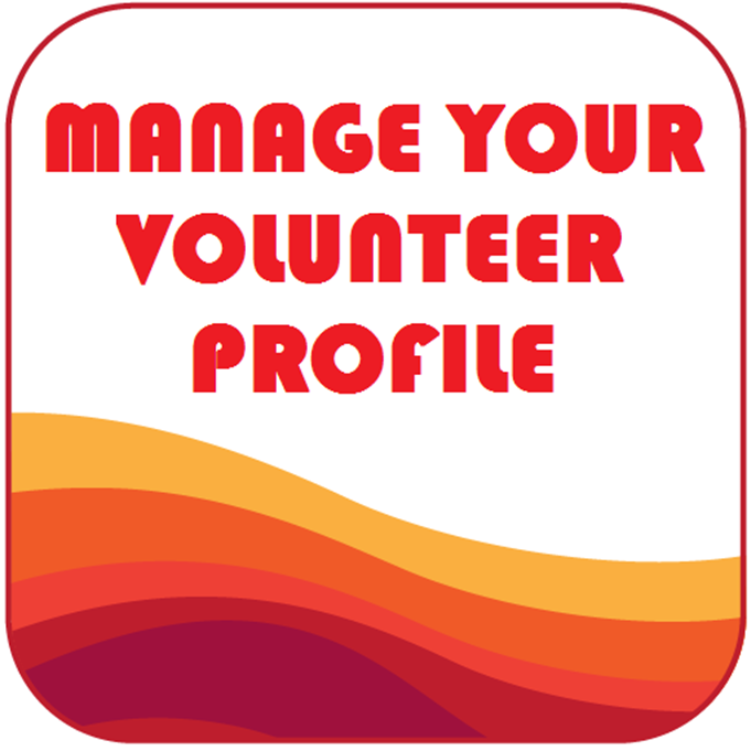 volunteer profile button