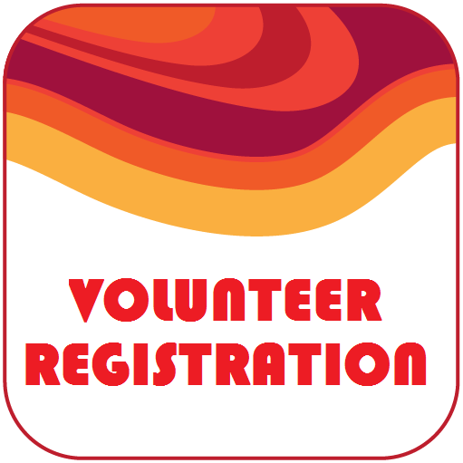 volunteer registration button