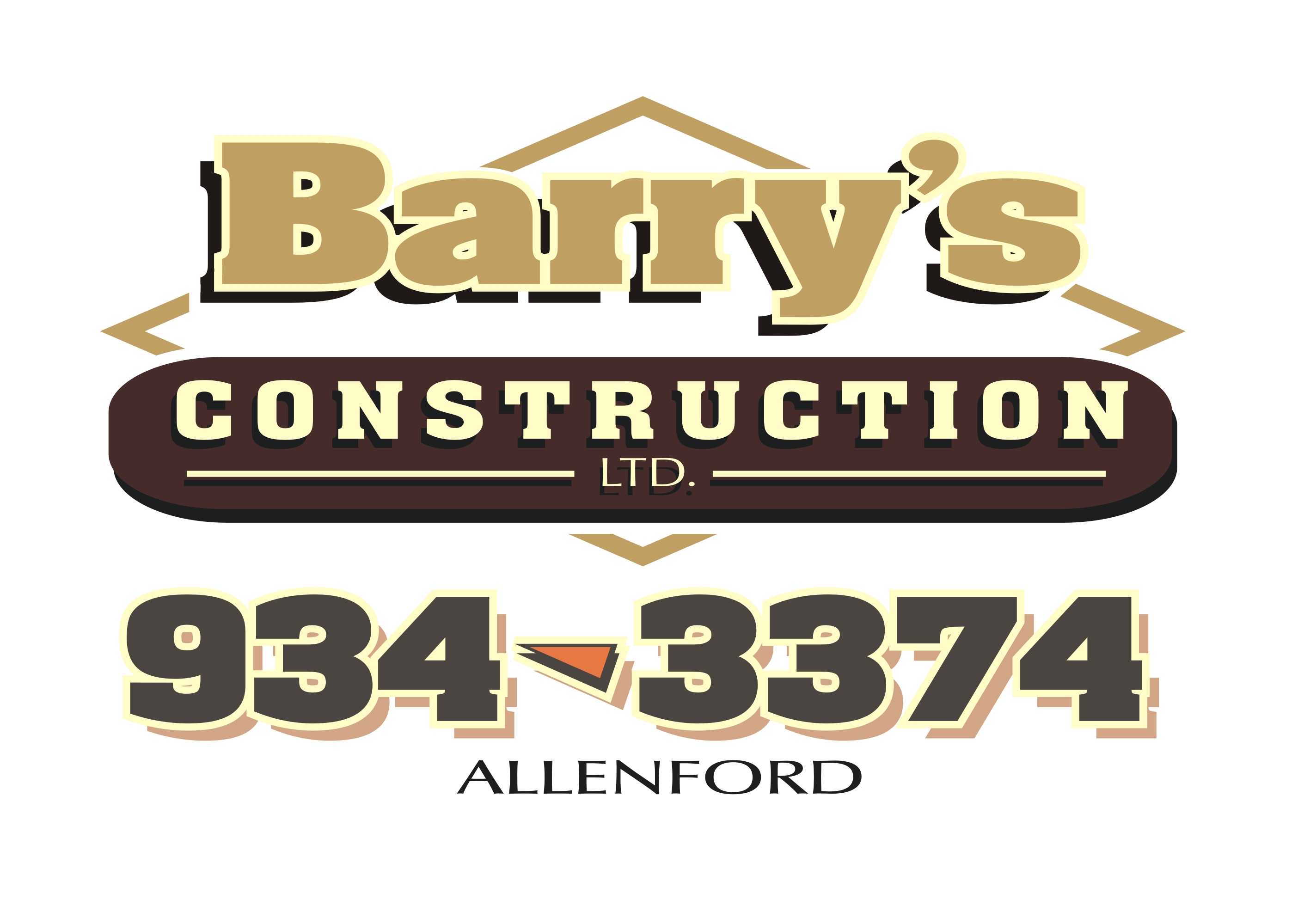 barry's construction logo