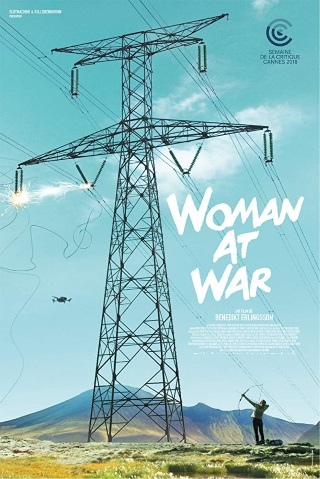 film poster of Woman at War