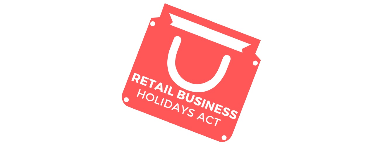 Retail Business Holidays Act Logo
