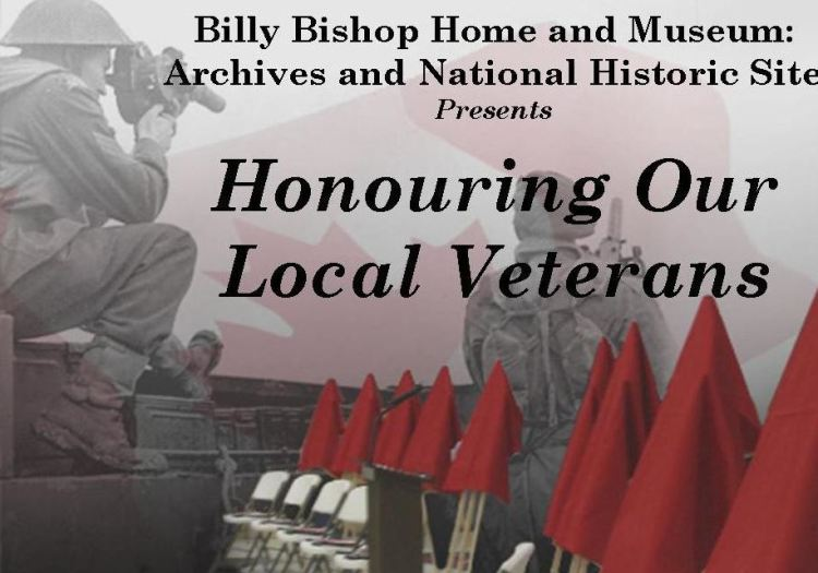 Honouring Our Local Veterans banner