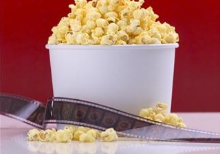 popcorn movie square